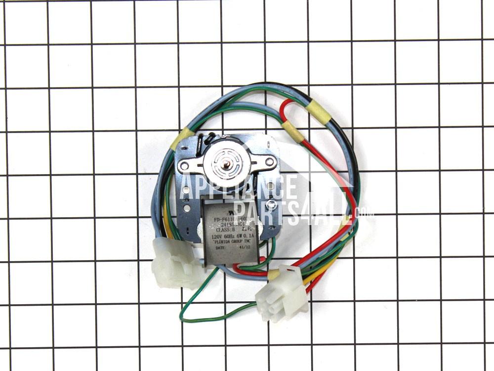 Frigidaire 241854301 evaporator fan motor for Frigidaire evaporator fan motor