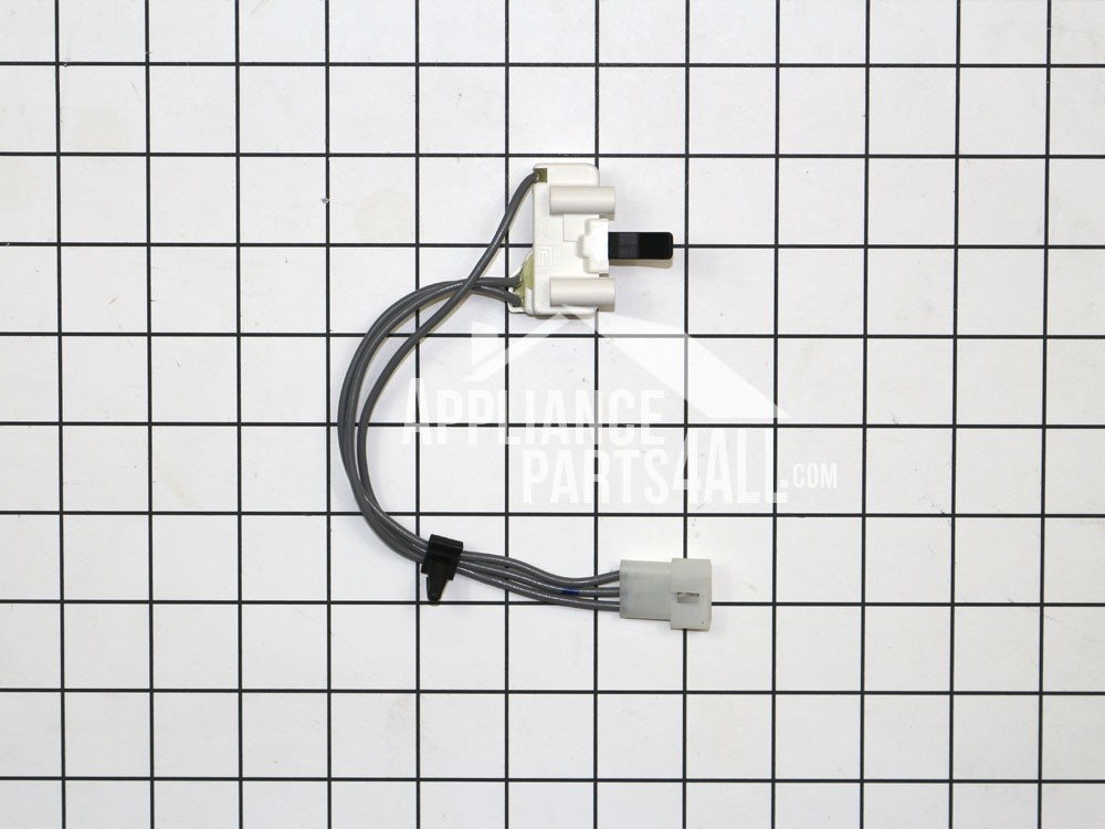 whirlpool wp3406105 dryer door switch assembly