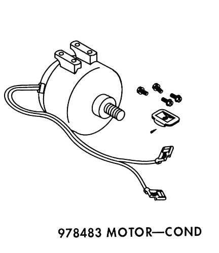 Goodman Heat Pump Condenser Fan Motor
