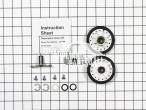 Dryer Rear Roller Kit LA-1008